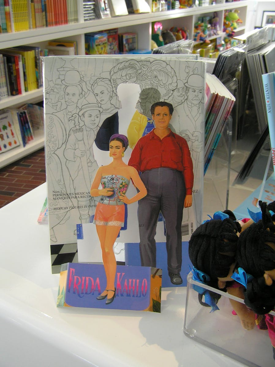 Frida and Diego paper dolls