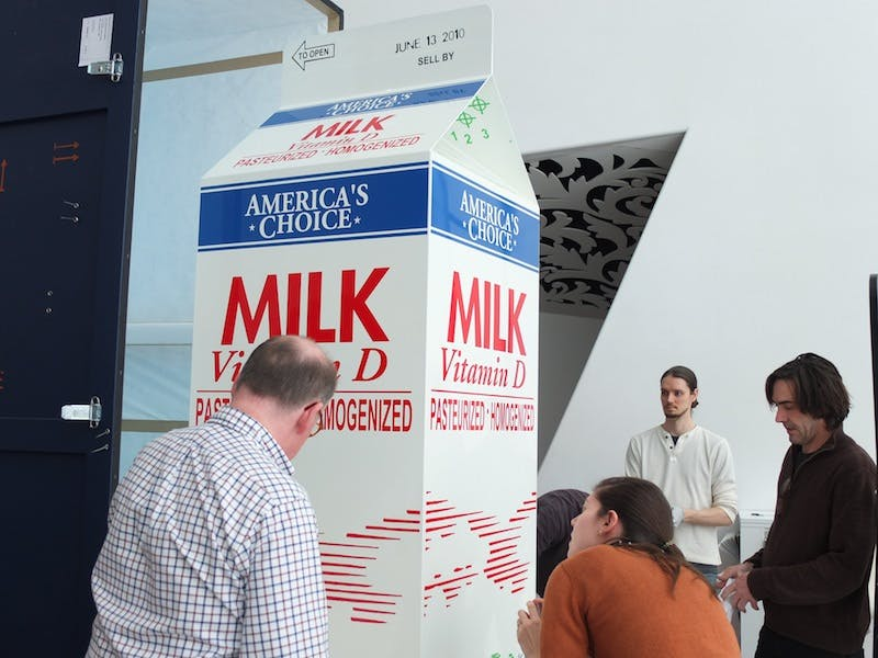 Giant Milk Carton