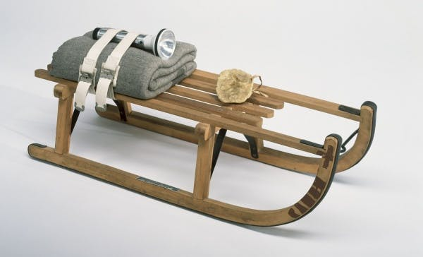 Joseph Beuys, Schlitten (Sled), 1969
