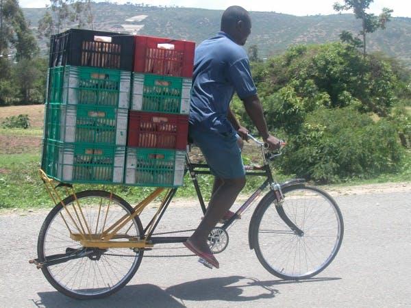 Big Boda load-carrying bicycle, 2005