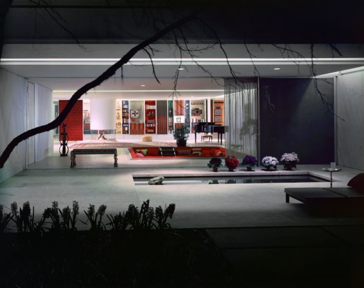Eero Saarinen, Miller House, Columbus, Indiana, circa 1957