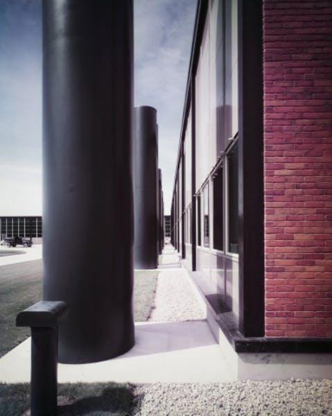 Eero Saarinen, General Motors Technical Center, Warren, Michigan, 1948–1956