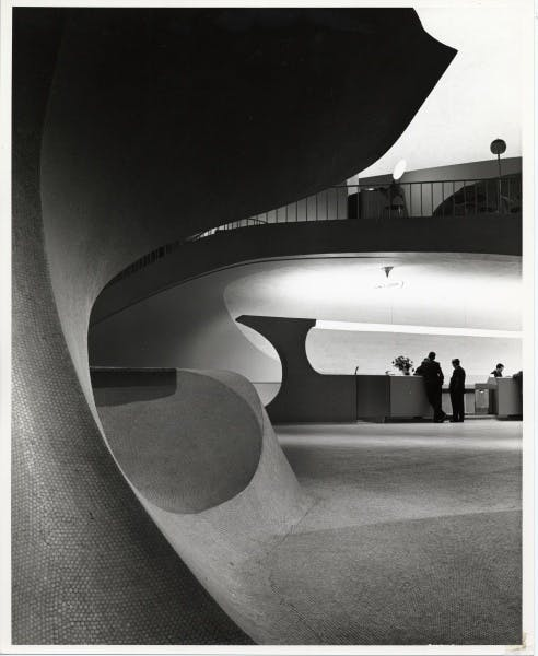 Eero Saarinen, TWA Terminal, New York International (now John F. Kennedy International) Airport, New York, circa 1962