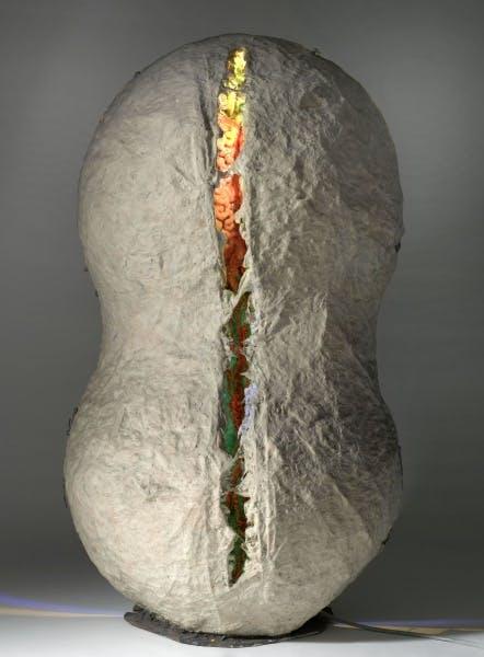 Tetsumi Kudo, Your Portrait—Chrysalis in the Cocoon (Votre portrait—chrysalide dans le cocon), 1967