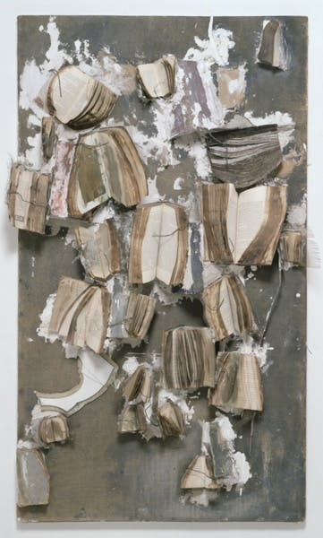 John Latham, Painting is an Open Book, 1961