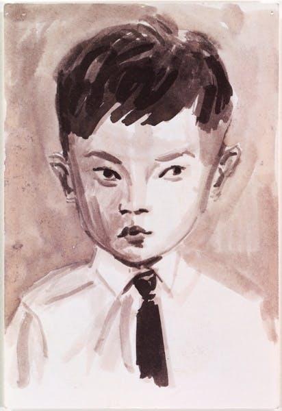 Elizabeth Peyton, Rirkrit, age 3 (Argentina), 1993
