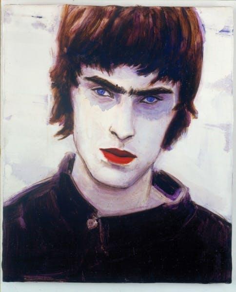 Elizabeth Peyton, Blue Liam, 1996