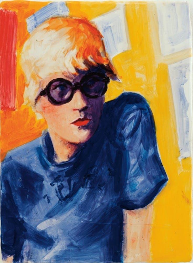 Elizabeth Peyton, David Hockney, Powis Terrace Bedroom, 1998