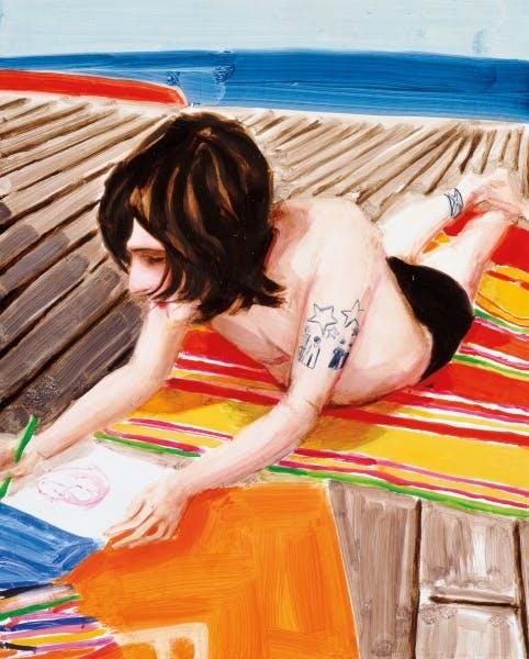 Elizabeth Peyton, Ben Drawing, 2001