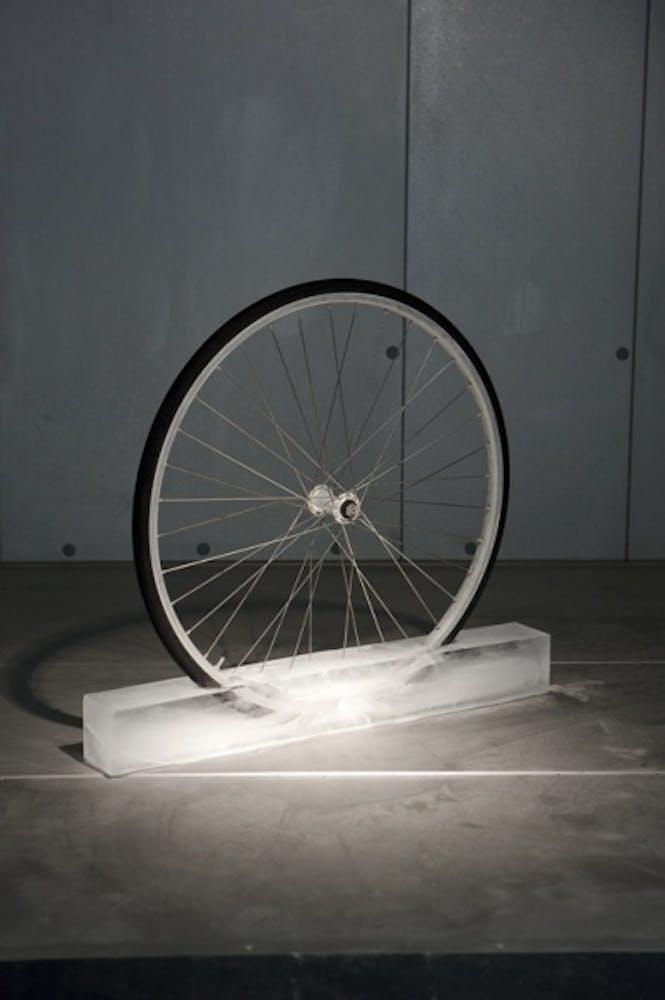 Roman Signer, Rad (Wheel), 1996/2008