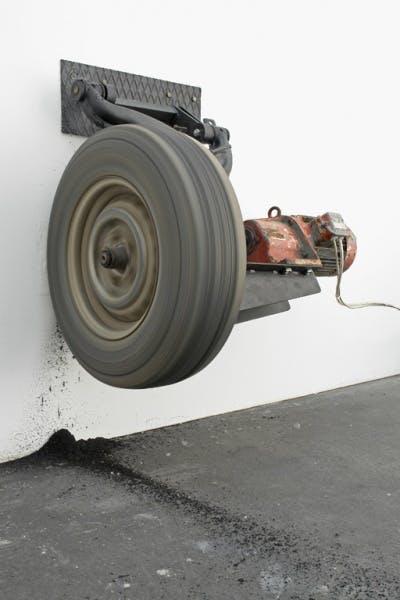Michael Sailstorfer, Zeit ist keine Autobahn - Berlin, (Time Is No Highway, Berlin), 2006