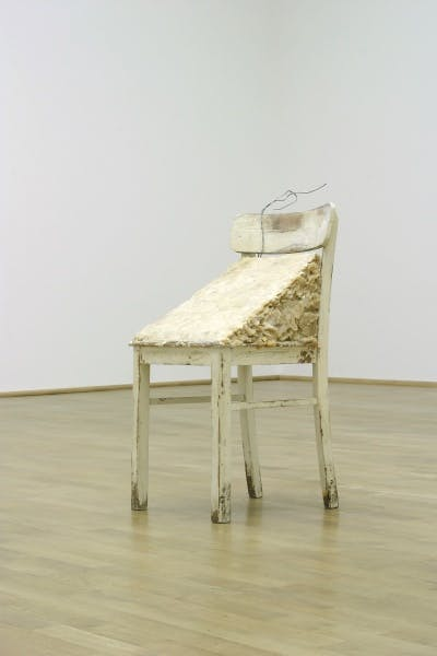 Sturtevant, Beuys Fat Chair, 1974-1989