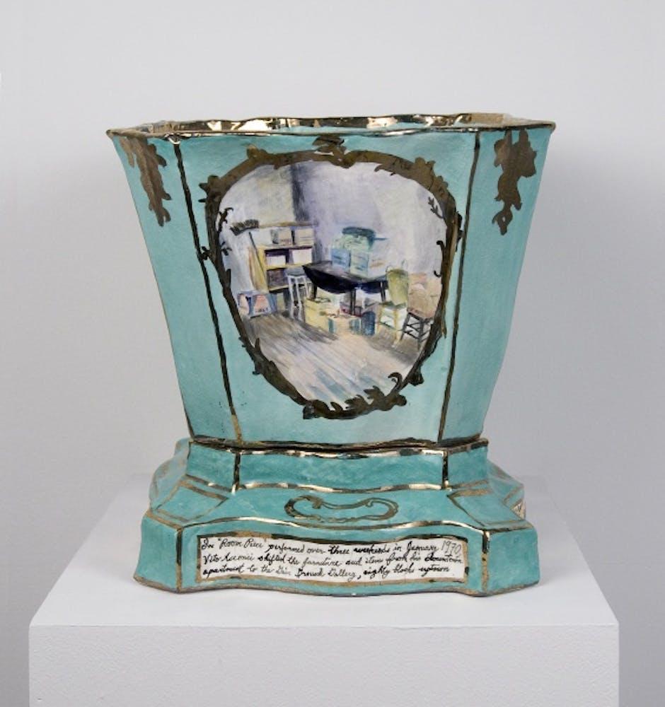 Jane Irish, Vase, Vito Acconci, 1995