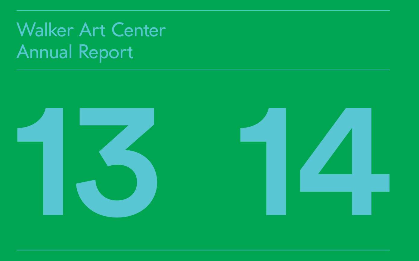 Annual Report 2013-14 PDF thumbnail