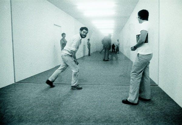 Dan Graham, Public Space/Two Audiences, 1976