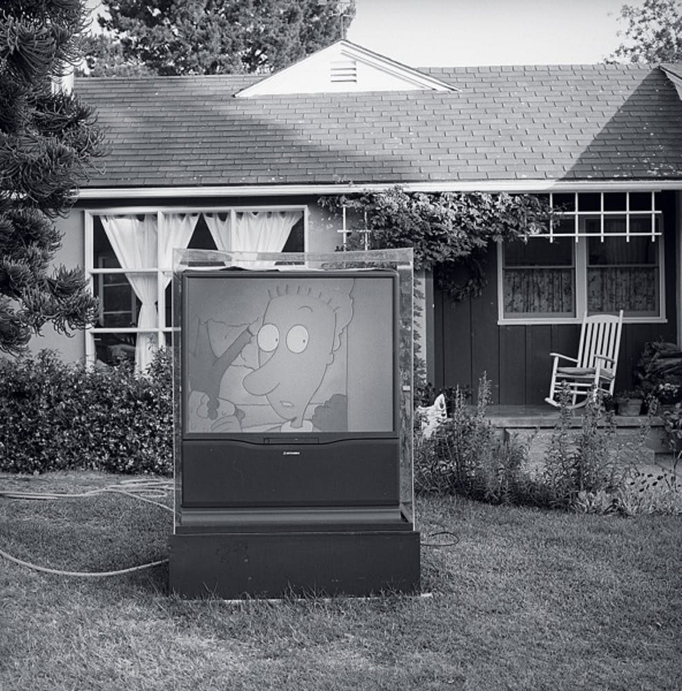 Dan Graham, Video Projection Outside Home, 1978