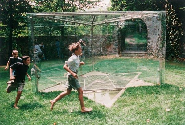 Dan Graham, Star of David Pavilion for Schloss Buchberg, Austria, 1991-1996