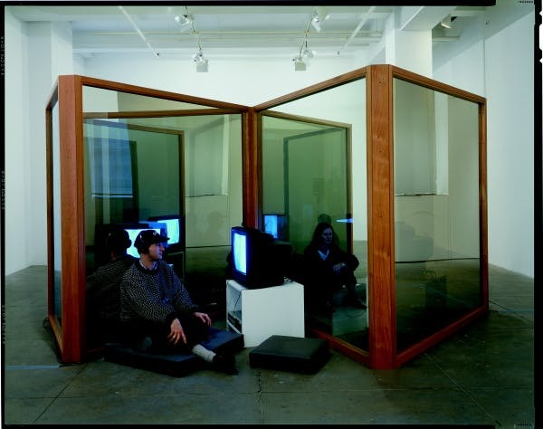 Dan Graham, New Space for Showing Videos, 1995