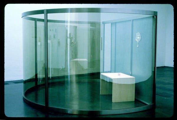 Dan Graham, Girl's Make-up Room, 1998-2000