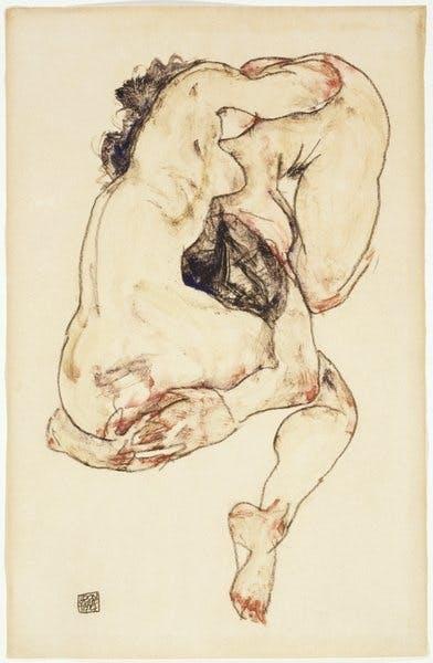 Egon Schiele, Two Figures, 1917