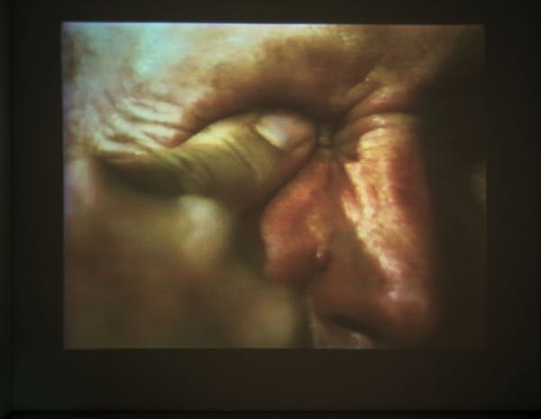 Bruce Nauman, Poke in the Eye/Nose/Ear 3/8/94 Edit, 1994