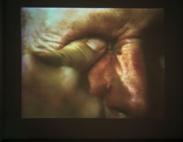 Bruce Nauman, Poke in the Eye/Nose/Ear 3/8/94 Edit, 1994