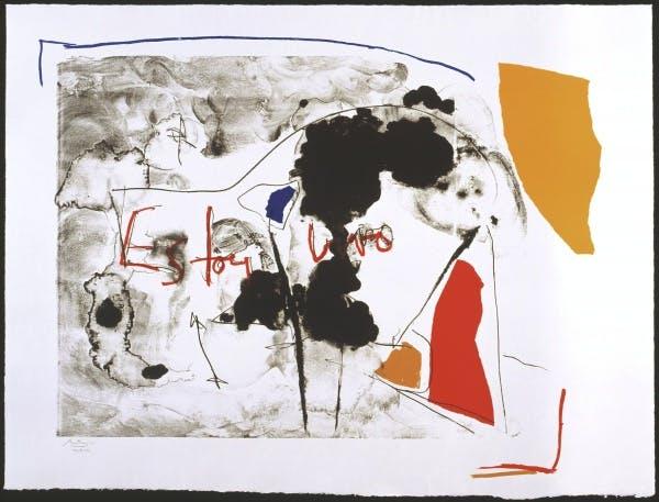 Robert Motherwell, Vivo (Black), 1986