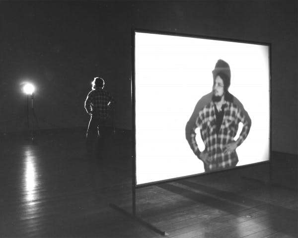 Peter Campus, Shadow Projection, 1974