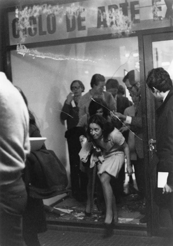 Graciela Carnevale, Encierro y escape (Entrapment and escape), 1968