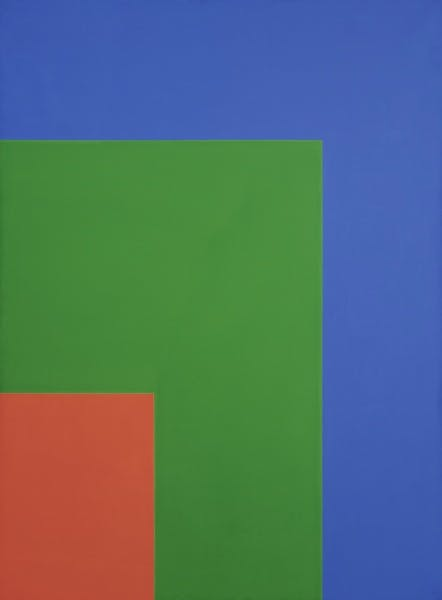 Ellsworth Kelly, Red Green Blue, 1964