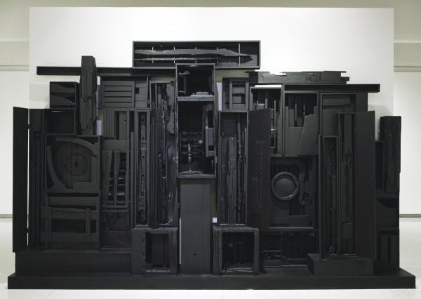 Louise Nevelson, Sky Cathedral Presence, 1951–1964