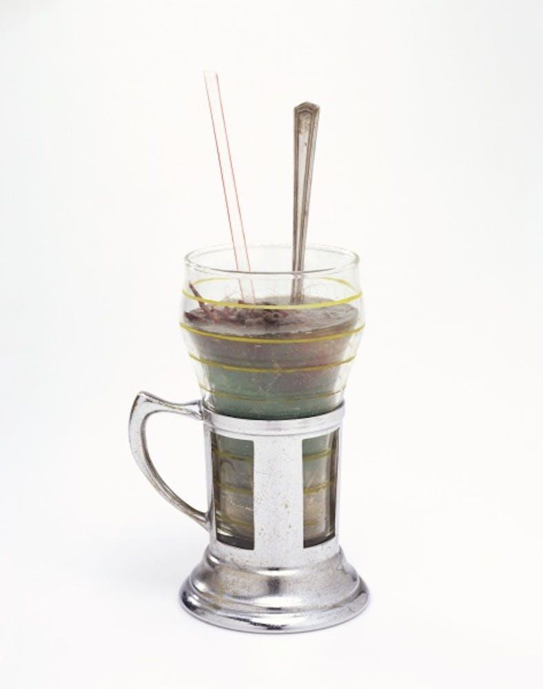 Paul Thek, Untitled (Soda Fountain Glass), 1965–1966