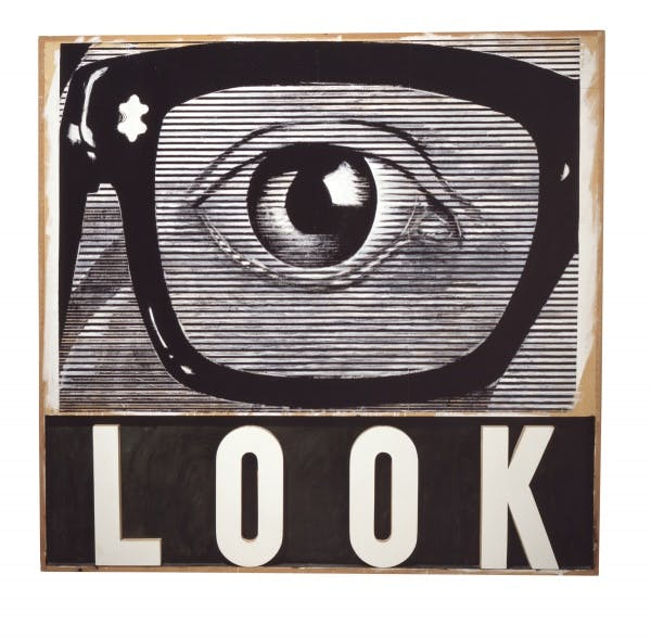 Joe Tilson, LOOK!, 1964