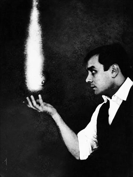 Yves Klein, La Rêve du Feu (The Dream of Fire), 1961