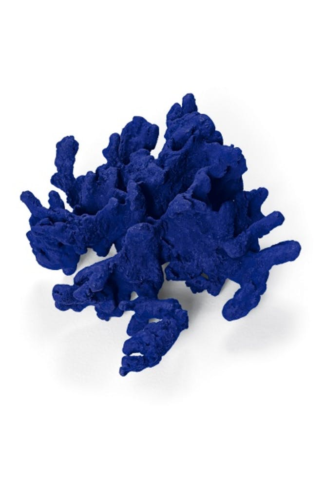 Yves Klein, Untitled Coral Sculpture, 1958
