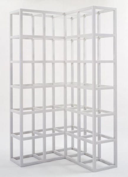 Sol LeWitt, Cubic Modular Piece No. 2 (L-Shaped Modular Piece), 1966