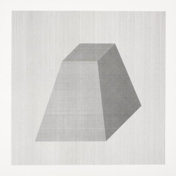 Sol LeWitt, Isometric Form, 1982
