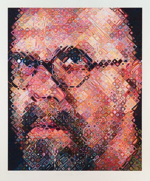 Chuck Close, Self-Portrait, 2000