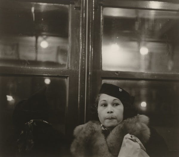 Walker Evans, [Subway Passenger, New York], 1941