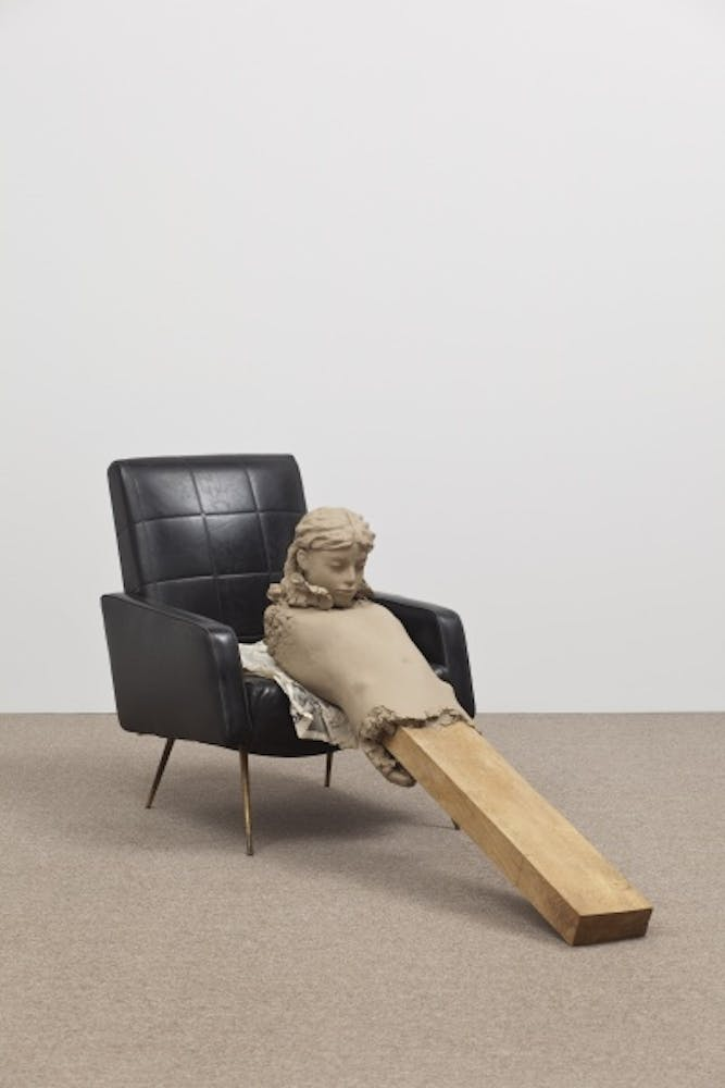 Mark Manders, Ramble-room Chair, 2010