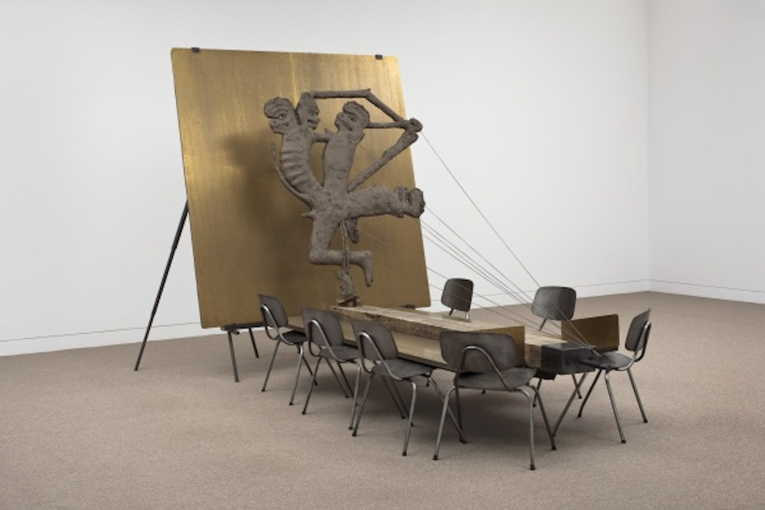 Mark Manders, Anthropological Trophy, 2010