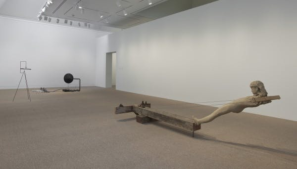 Mark Manders, Installation view at the Hammer Museum, Los Angeles, 2010