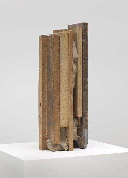 Mark Manders, Obtrusive Head, 2010