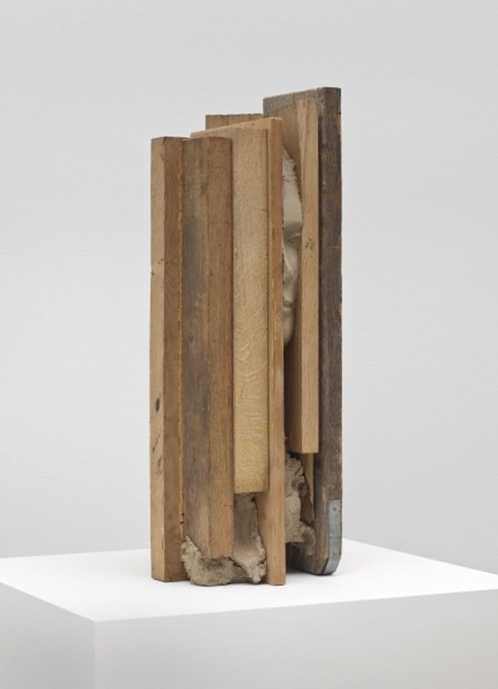 Mark Manders, Obtrusive Head, 2010