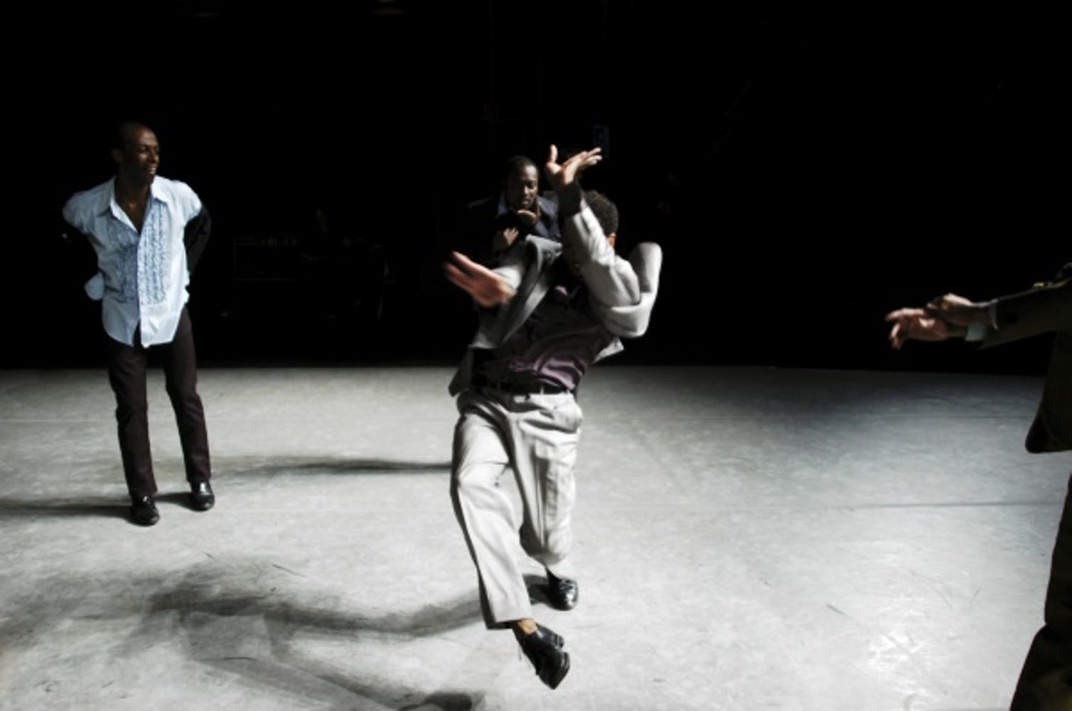 Ralph Lemon and dancers in Come home Charley Patton (The Geography Trilogy: Part 3), 2005