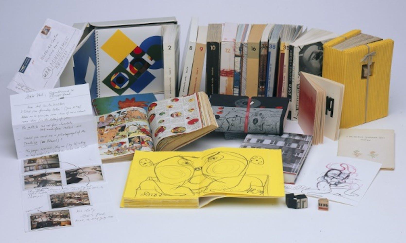 Artist's Books by DieterRoth
