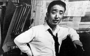 Nam June Paik photographic portrait