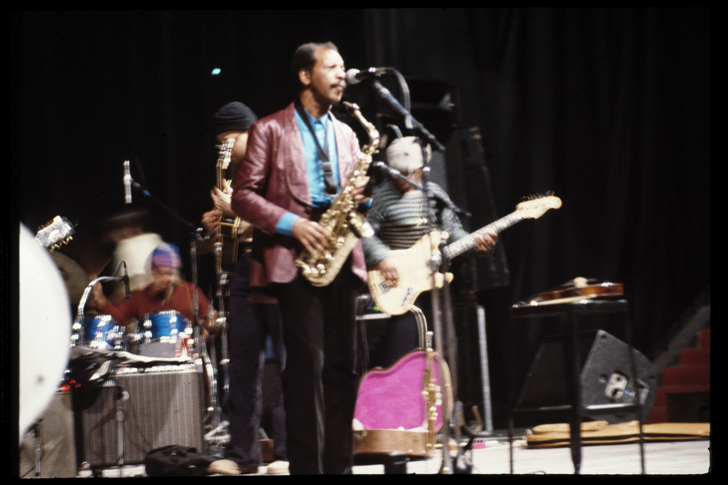 Ornette Coleman on stage