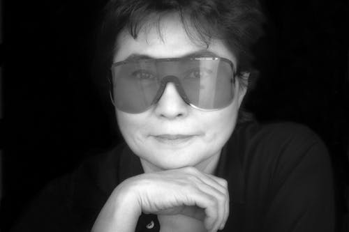 Portrait of Yoko Ono