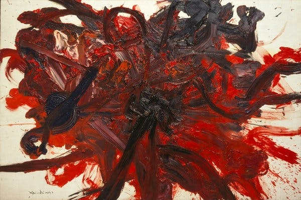 Kazuo Shiraga, Untitled, 1959